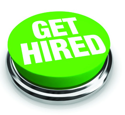 get hired button.